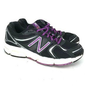 New Balance Womens 490 V2 Black Running Shoes